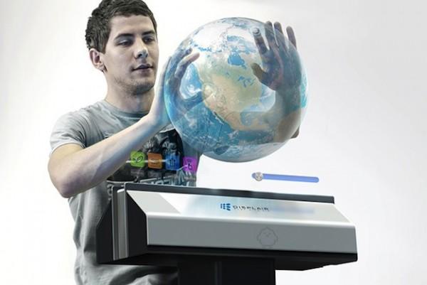 酷科技:空气触摸屏