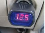 (原创)测汽车电压